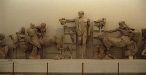 Primary view of object titled 'East Pediment of the Temple of Zeus at Olympia'.