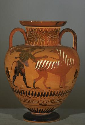 Black-figured Neck-Amphora