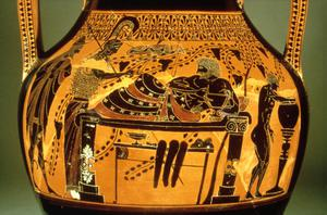 Black-figured and Red-figured Amphora