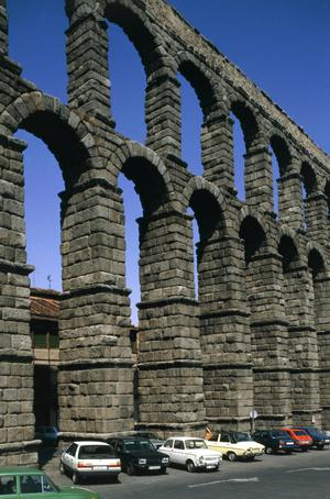 Primary view of object titled 'Roman Aqueduct, Reign of Trajan'.