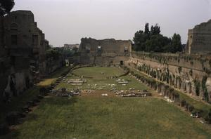 Primary view of object titled 'Palace of Domitian by Rubirius'.