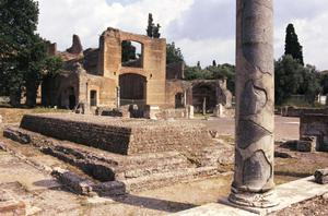 Primary view of object titled 'Hadrian's Villa at Tivoli'.