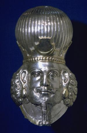 Primary view of object titled 'Head of a King'.