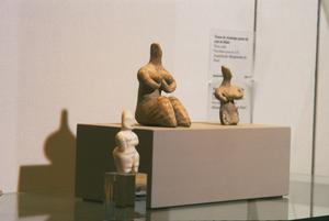 Primary view of object titled 'Fertility Figure in the Halaf style'.