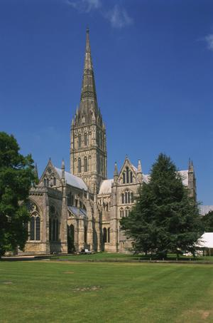 Primary view of Salisbury Cathedral