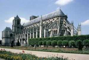 Primary view of object titled 'Bourges Cathedral of St. Etienne'.