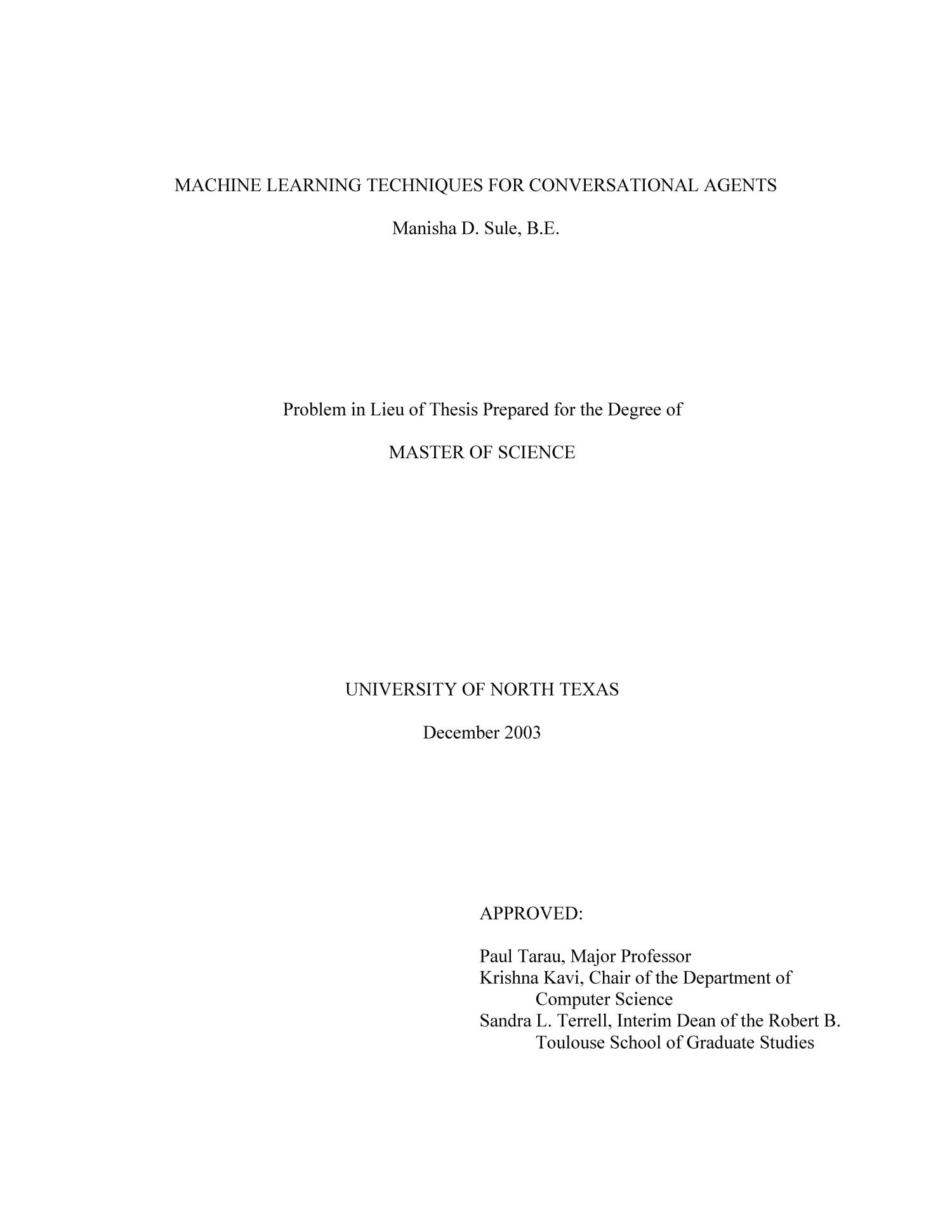 thesis about machine Download thesis statement on the time machine in our database or order an original thesis paper that will be written by one of our staff writers and delivered.