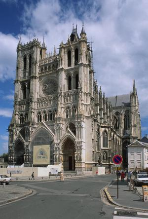 Primary view of Cathedral of Notre Dame at Amiens
