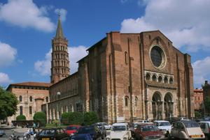 Primary view of object titled 'Basilica of St. Sernin'.
