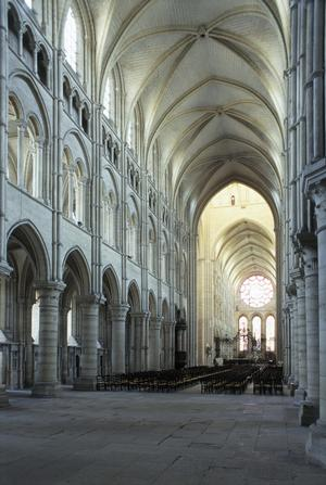Primary view of object titled 'Laon Cathedral of Notre Dame'.