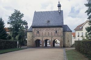 Primary view of object titled 'Torhalle (Gatehouse) of Monastery'.