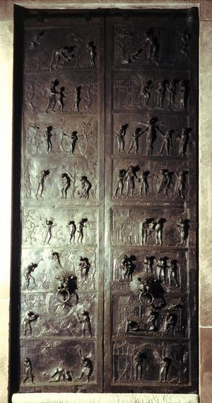 Bishop Bernward Bronze Doors