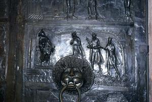 Primary view of Bishop Bernward Bronze Doors