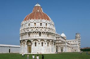 Primary view of Baptistry, Cathedral and Leaning Tower