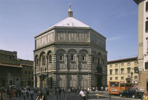 Primary view of object titled 'Baptistery of San Giovanni'.