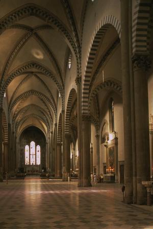 Primary view of Dominican Church of Santa Maria Novella