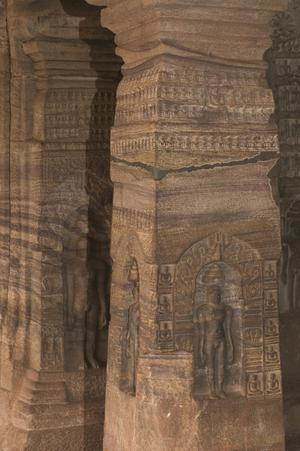 Primary view of object titled 'Badami: Cave 4'.