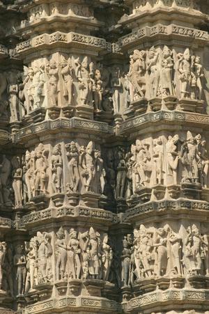 Primary view of Kandariya Mahadeva Temple