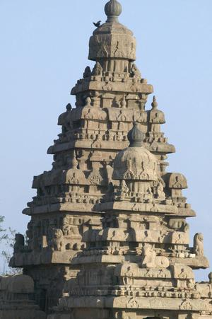 Primary view of object titled 'Five Pandava Temples: Shore Temple'.