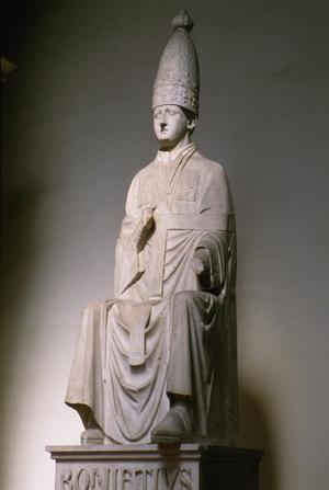 Primary view of Pope Boniface VIII Caitani