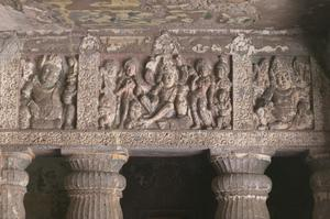 Primary view of object titled 'Ajanta Cave 2'.
