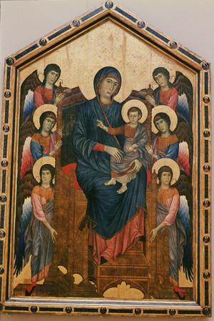 Primary view of Madonna and Child Enthroned