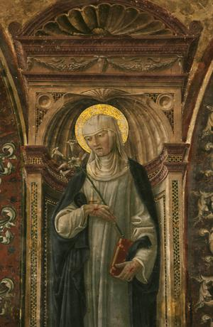 Primary view of object titled 'St. Catherine of Siena'.