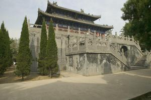 White Horse Temple: Hall of Scriptures