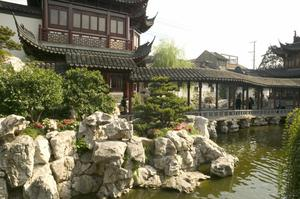 Primary view of object titled 'Yu Garden (Yuyuan): Pavilion'.