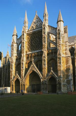 Primary view of Westminster Abbey
