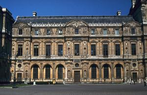 Primary view of object titled 'Louvre: Cour Carré'.