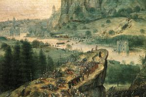 Primary view of The Suicide of Saul in the Battle between Israelites and Philistines