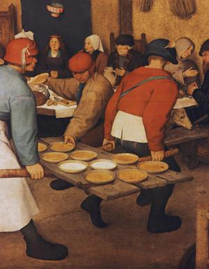 Primary view of object titled 'Peasant Wedding'.