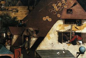 Primary view of object titled 'Netherlandish Proverbs'.