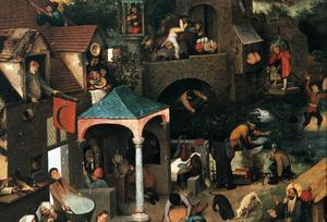 Primary view of Netherlandish Proverbs
