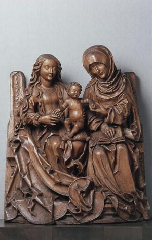 Primary view of Virgin and Child with Saint Anne