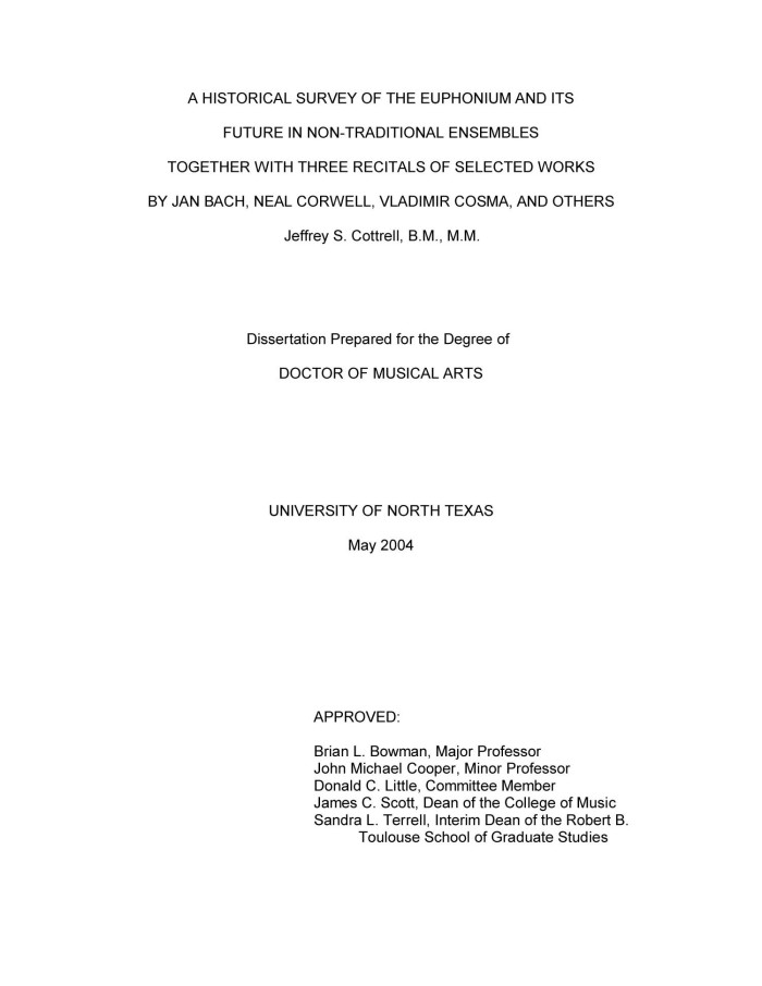 dissertations that are non traditional Regional change and non-traditional exports : land, labour & gender in the norte chico, chile  proquest dissertations & theses page publiée le 24 mars 2015,.