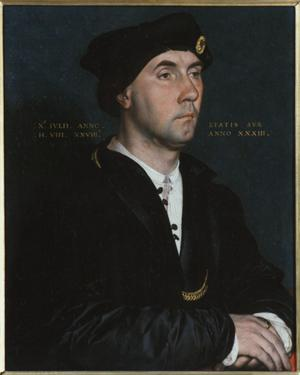 Primary view of object titled 'Portrait of Sir Richard Southwell'.