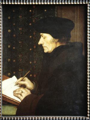 Primary view of Portrait of Erasmus of Rotterdam