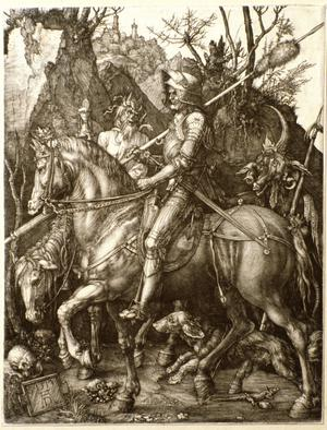 Primary view of Knight, Death and the Devil