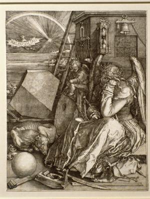 Primary view of Melencolia I