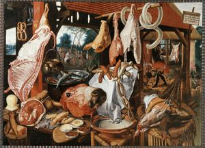 Primary view of object titled 'The Butcher Shop'.
