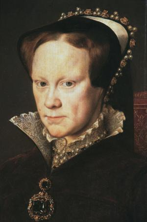 Primary view of Queen Mary of England (Mary Tudor)
