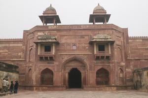 Primary view of Jodh Bai's Palace, Fatehpur Sikri, India