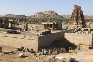 Primary view of Vitthala Temple Complex