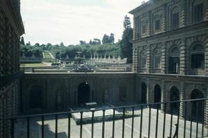 Primary view of object titled 'Palazzo Pitti, Garden Court'.