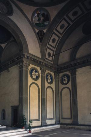 Primary view of object titled 'Pazzi Chapel'.
