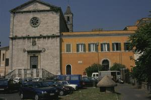 Primary view of object titled 'Church of San Pietro in Montorio'.