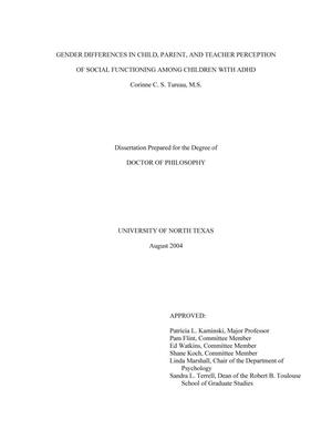 gender differences in peer and parental Peer attachment: a meta-analytic review of gender and age differences and associations with parent attachment.