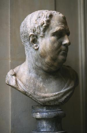 """Primary view of Bust of a Man (of the """"EmperorVitellius"""" type)"""
